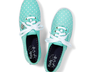Check out Taylor Swift's second set of Keds sneakers for fall 2013!