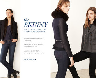 Have a look at the new Tory Burch jeans for the pre-fall 2013 season.