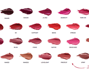 22 intense lipstick shades await in Urban Decay's latest fall 2013 collection. Have a look!