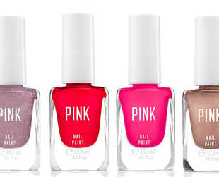 Browse through the newest beauty line from Victoria's Secret, the Pink Nail & Lip collection.