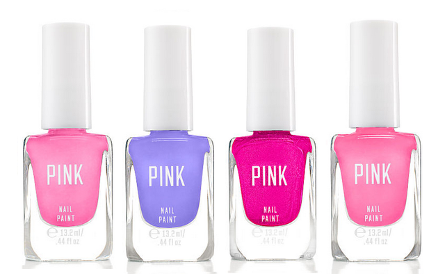 Victoria's Secret Pink Nail Paint Pinks And Purples
