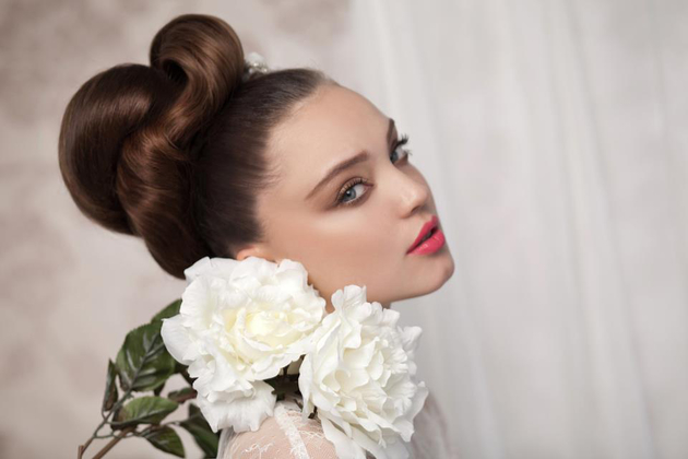 Big Updo Hairstyle For Brides