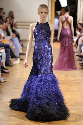 Zuhair Murad Fall 2013 Couture Collection Look  9