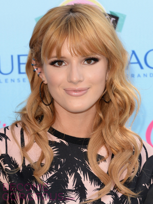 Bella Thorne Loose Curls With Bangs