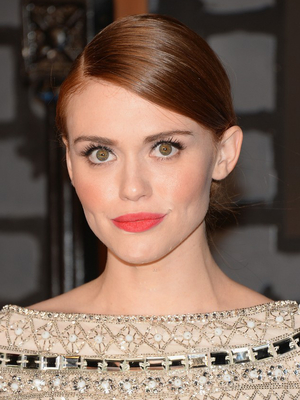 Holland Roden Side Parted Low Updo