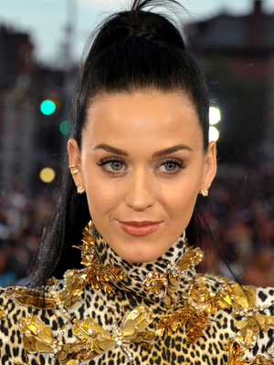 Katy Perry Sleek High Pony