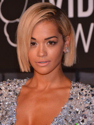 Rita Ora Straight Short Bob