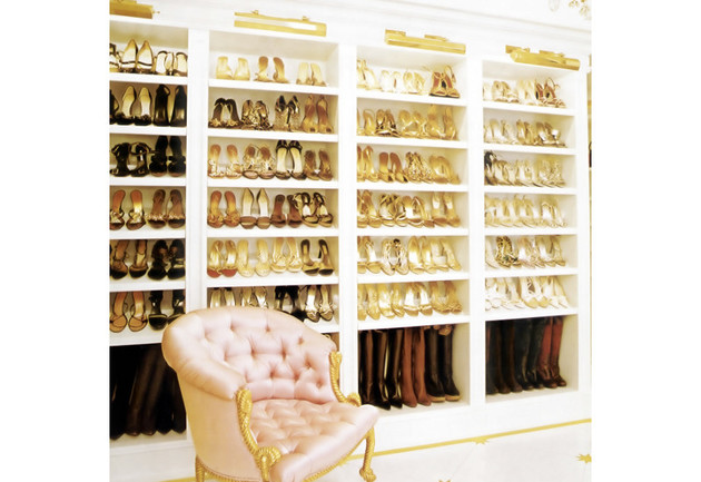 Mariah Carey's Walk In Closet