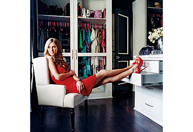 Nicky Hilton's  Walk In Closet