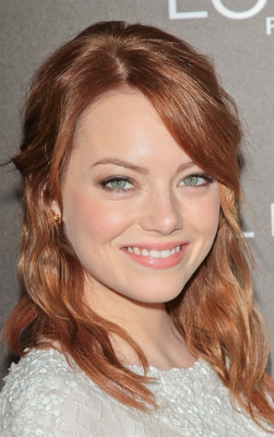 Emma Stone Light Auburn Hair
