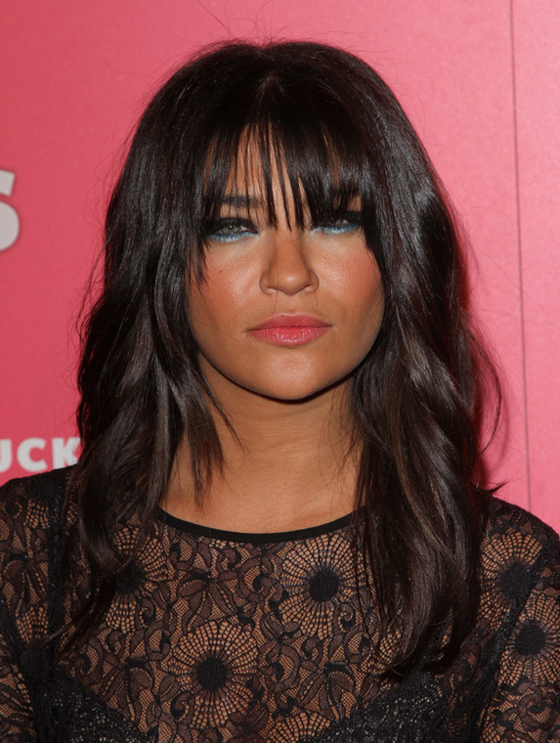 oblong face hairstyles men : ... Bangs or No Bangs ? Celebrity Hairstyles - Jessica Szhor Bangs