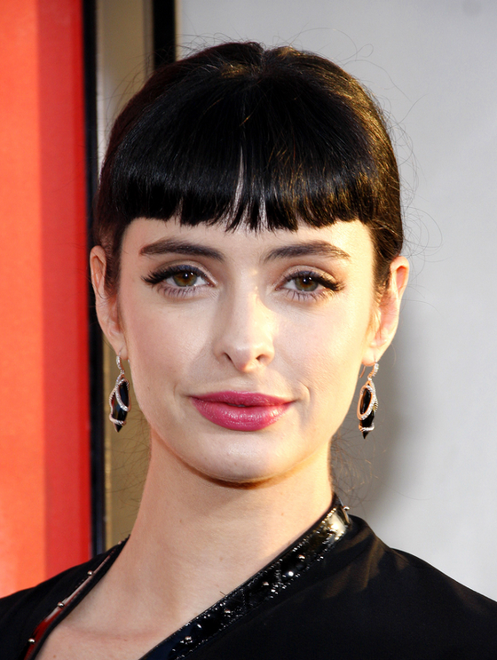 Pictures : Bangs or No Bangs  Celebrity Hairstyles - Krysten Ritter ...