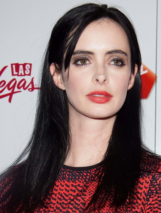 oblong face hairstyles men : ... Bangs or No Bangs ? Celebrity Hairstyles - Krysten Ritter No Bangs