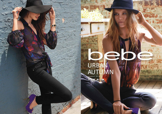 Bebe 'Urban Autumn' Fall 2013 Lookbook