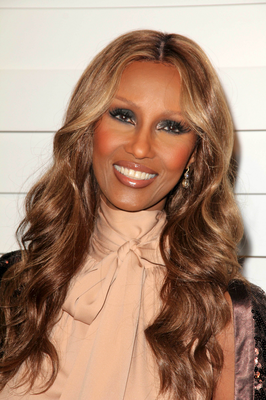 Iman Highlighted Hair