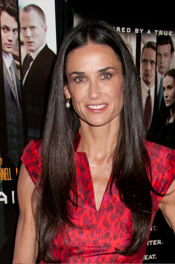 Pictures : Best Hair Colors for Women Over 50 - Demi Moore ...