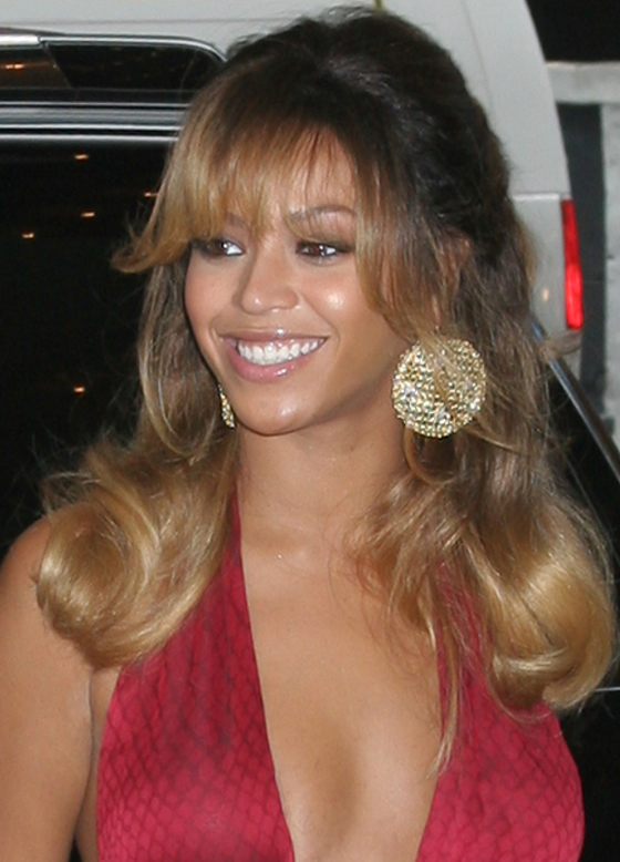 Tremendous Pictures Beyonce39S Hair Style Evolution Beyonce Wispy Bangs Short Hairstyles For Black Women Fulllsitofus