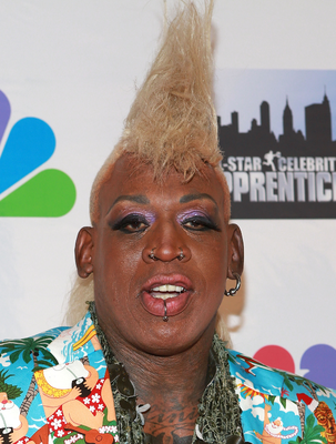 Dennis Rodman Blonde Hair Color