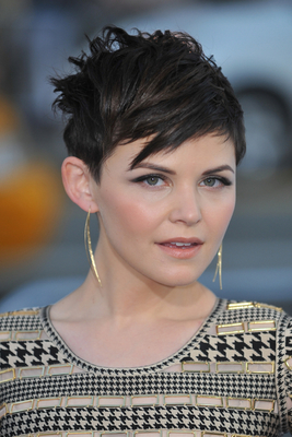 Ginnifer Goodwin Messy Short Pixie Hairstyle