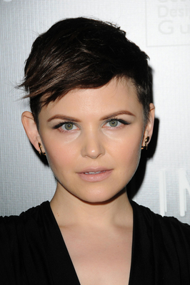 Ginnifer Goodwin Side Swept Short Pixie