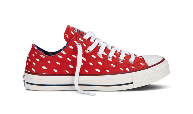 Marimekko Converse Oxford Mustakottarainen Red