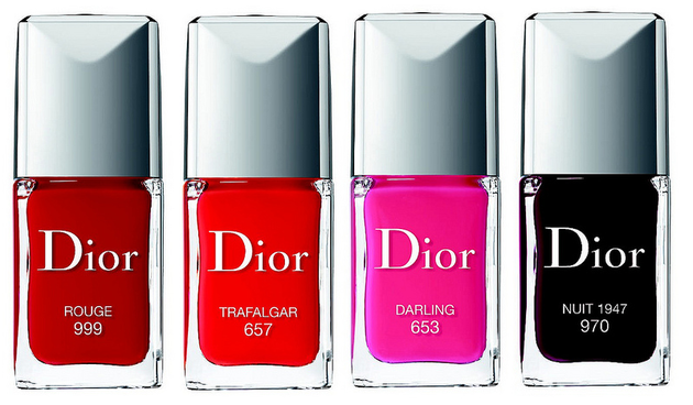 Dior Fall 2013 Nail Polishes