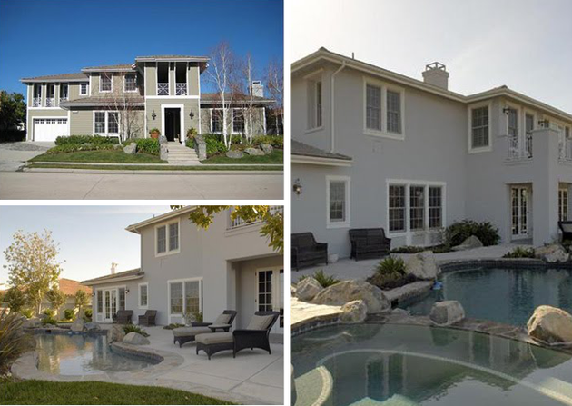 Kourtney Kardashian Calabasas House