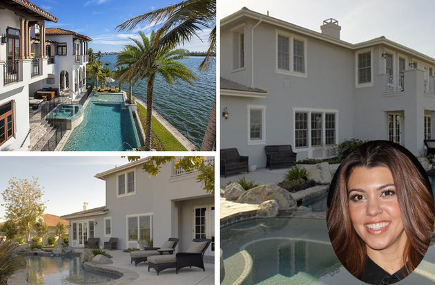 Discover the Lavish Houses Kourtney Kardashian Lives In!