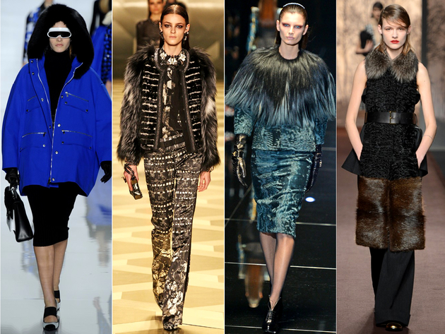 Fur Trim Runway Trends
