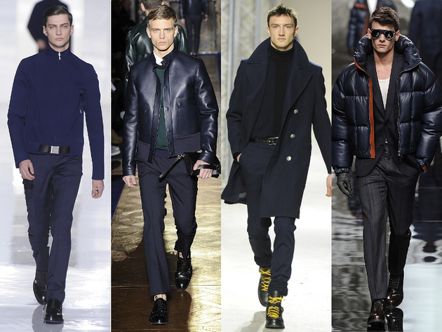 Navy Menswear Trend Fall 2013