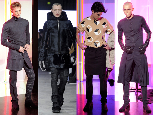 Skirts Menswear Trend Fall 2013
