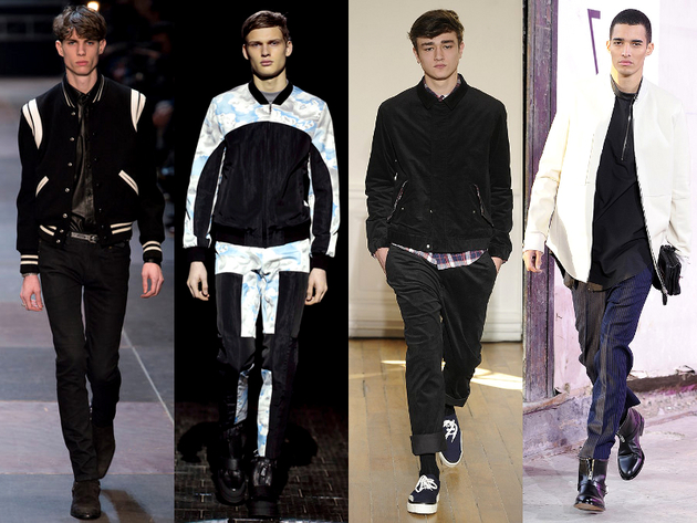 Varsity Jackets Menswear Trend Fall 2013