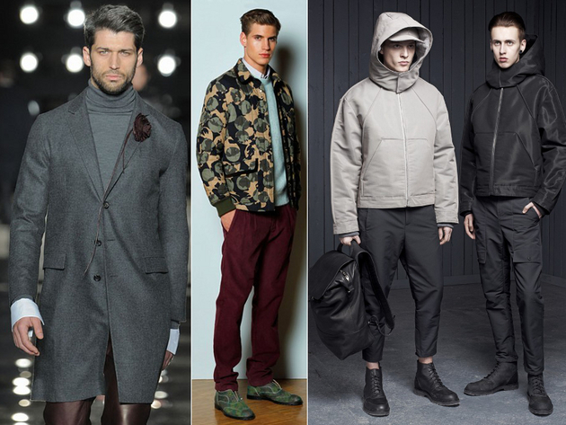 Fall 2013 Menswear Trends