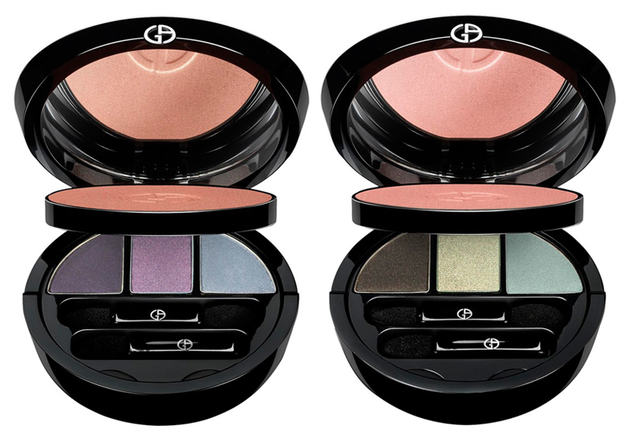 Giorgio Armani Kaleidoscope Eye Makeup For Fall 2013