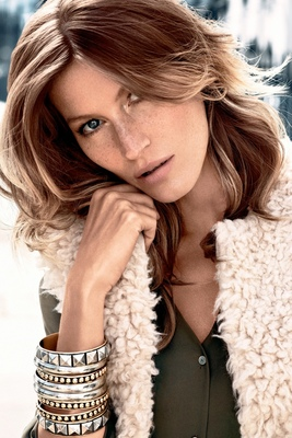 Gisele Bundchen H M Fall 2013 Campaign Look (1)