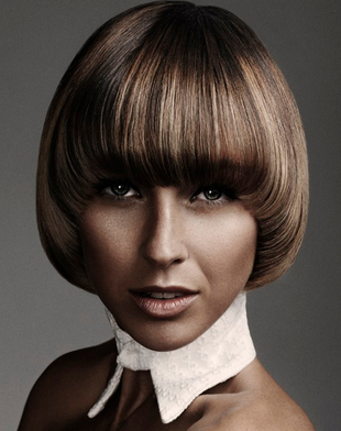 Highlights Hair Color Idea For Tanned Skin