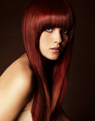 mahogany hair color for fair skin dark brown hairs