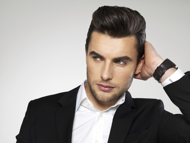 Mens Hair Styling Products Photo Spiked Hairstyle For Men Styled With Picture