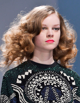 Big Curly Hairstyle Manish Arora