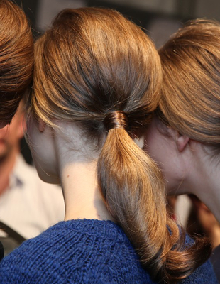 Retro Low Ponytail Moschino