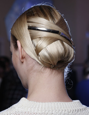 Sleek Folded Chignon Jason Wu