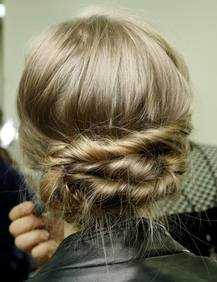 Twisted Chignon Marchesa