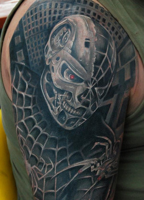 Cool Half Sleeve Tattoo For Men