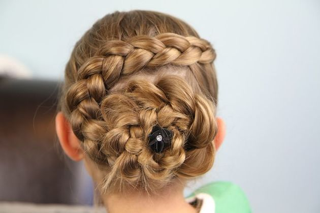 Chic Braid Hairstyles For School