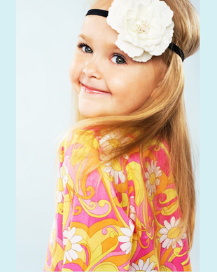 Headband Hairstyles For Little Girls