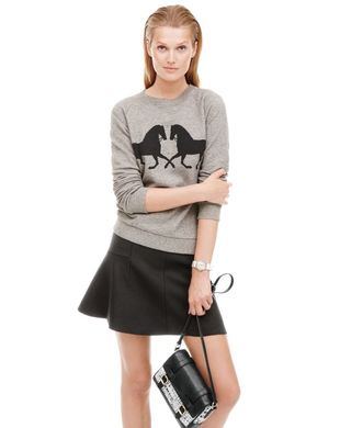 J Crew Horsing Around Sweatshirt