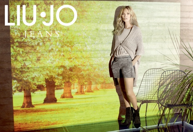 Kate Moss For Liu Jo Fall 2013 Campaign Look  (1)