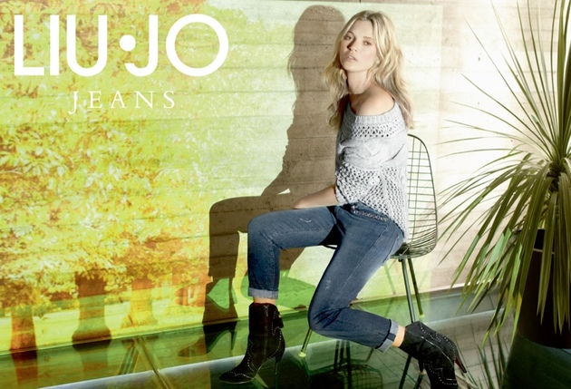 Kate Moss For Liu Jo Fall 2013 Campaign Look  (2)