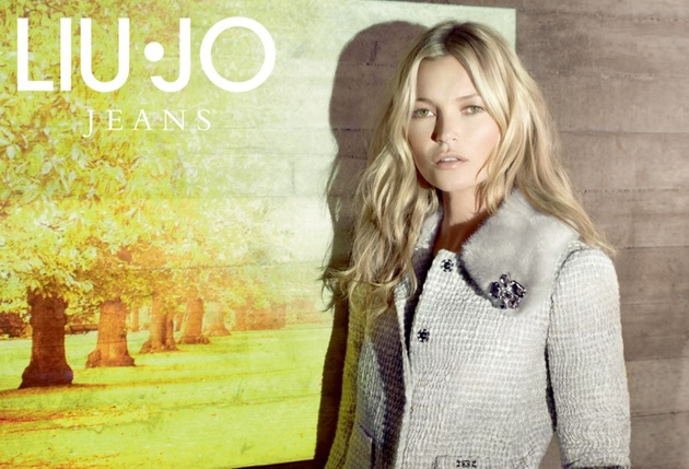 Kate Moss For Liu Jo Fall 2013 Campaign Look  (3)