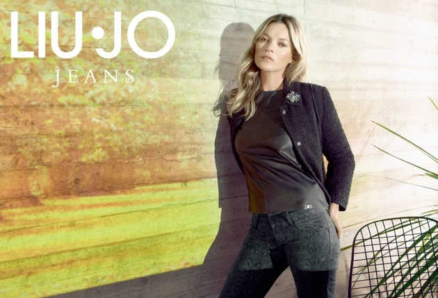 Kate Moss For Liu Jo Fall 2013 Campaign Look  (4)